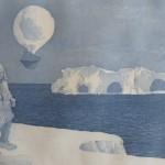 Antarctic weather balloon