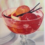 stewed nectarines with vanilla bean