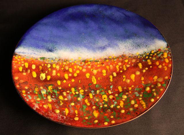 Wildflowers Plate RY