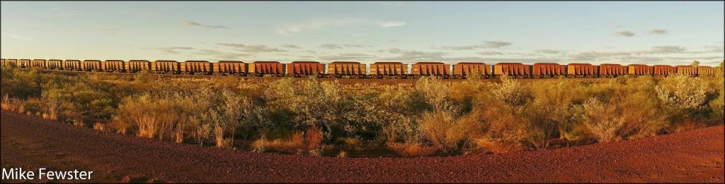 Ore train. small